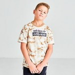 Boys adidas Originals R.Y.V. Camouflage T-Shirt