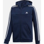 Boys adidas Soccer 3-Stripes Full-Zip Hoodie