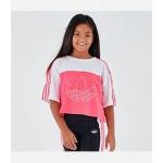 Girls adidas Originals Crop T-Shirt