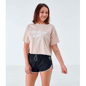 Womens Reebok Classics Crop T-Shirt