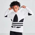 Kids adidas Originals Big Trefoil Hoodie