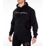 Mens Champion Powerblend Graphic Hoodie