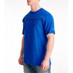 Mens Champion C-Life Script Logo T-Shirt
