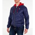 Mens Fila Copper Full-Zip Wind Jacket