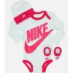 Infant Nike Long Sleeve Futura 3-Piece Box Set