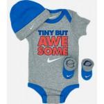 Infant Nike Varsity Tiny But Awesome 3-Piece Box Set