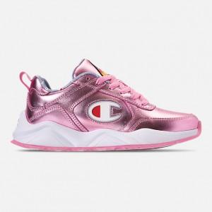Girls Big Kids Champion 93Eighteen Metallic Casual Shoes