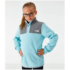 Girls The North Face Glacier Half-Snap Sweatshirt