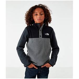 Boys The North Face Glacier Half-Snap Sweatshirt