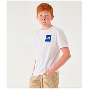 Boys The North Face Outline Logo T-Shirt