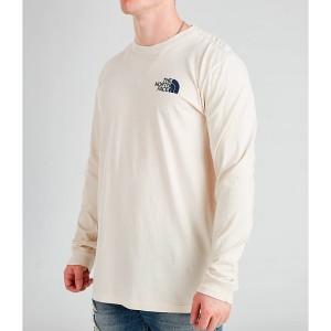 Mens The North Face Printed Long-Sleeve T-Shirt