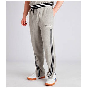 Mens Champion Terry Warm-Up Pants