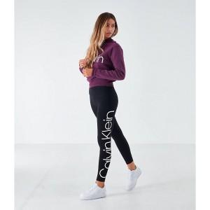 Womens Calvin Klein Logo Leggings