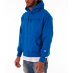 Mens Champion Reverse Weave Garment Dyed Graphic Hoodie