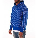 Mens Champion Reverse Weave Allover Hoodie