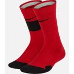 Kids Nike Elite 2-Pack Crew Basketball Socks