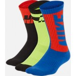 Kids Nike Everyday Cushioned 3-Pack Crew Socks