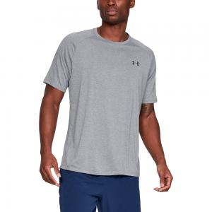 Under Armour Tech 2.0 Short Sleeve T-Shirt - Mens / Steel Light Heather/Black