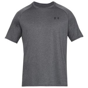 Under Armour Tech 2.0 Short Sleeve T-Shirt - Mens / Carbon Heather/Black