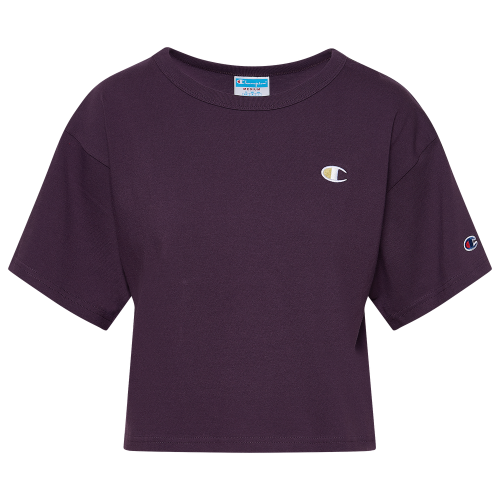 Champion Heritage Cropped T-Shirt - Womens