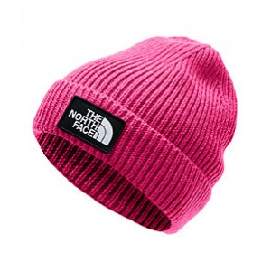 Youth TNF Logo Box Cuffed Beanie