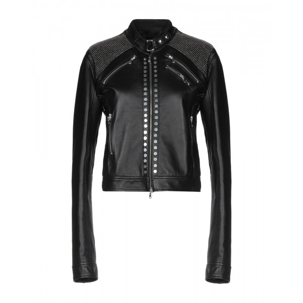 DIESEL BLACK GOLD Biker jacket