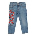 GUCCI GUCCI Denim pants 42667980BW