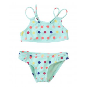 ROXY Bikini Rainbow Dots Athletic Set 47200917NH