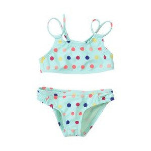 ROXY Bikini Rainbow Dots Athletic Set 47200917NH