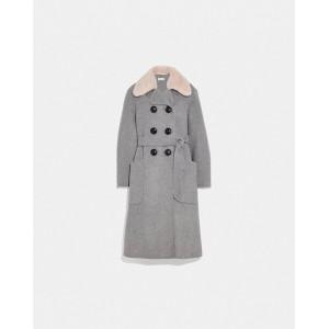 luxury wool trench coat