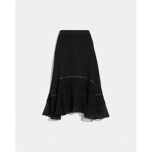 long embellished skirt