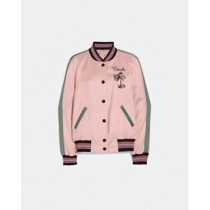reversible souvenir varsity jacket