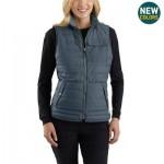 Amoret Reversible Flannel-Lined Vest