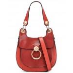 Small Tess Leather Hobo Bag