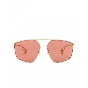 Shiny Gold Sunglasses