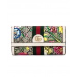 Floral Continental Wallet