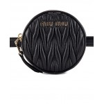 Quilted Circle Belt Bag
