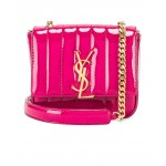 Small Patent Monogramme Vicky Chain Bag