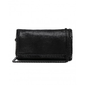 Falabella Black Chain Crossbody