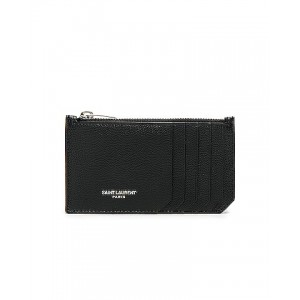 Zipped Fragments Credit Card Case