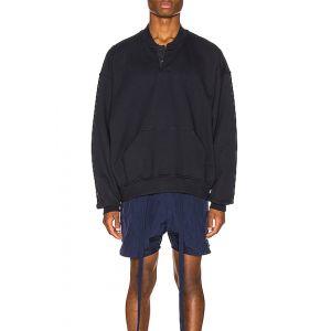 Everyday Henley Sweatshirt