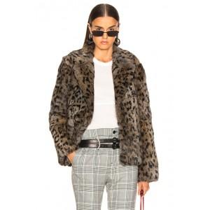 Saffron Fur Coat