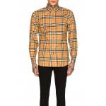 Long Sleeve Vintage Check Shirt