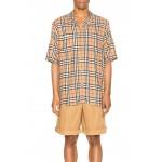 Raymouth Check Short Sleeve Shirt