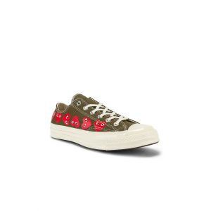 Emblem Low Top Sneaker