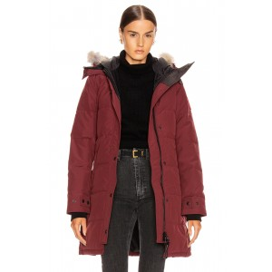 Shelburne Parka with Coyote Fur