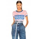 Fashion Devotion Ringer Tee
