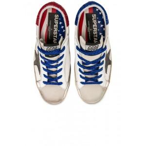 Bluette Laces Superstar Sneakers