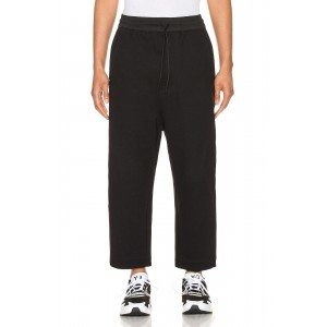 Terry Cropped Pants
