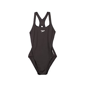 Speedo Girls Medalist Swimsuit, Black